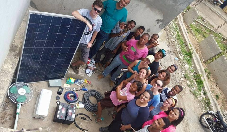 Practivistas solar 2015- Las Malvinas system